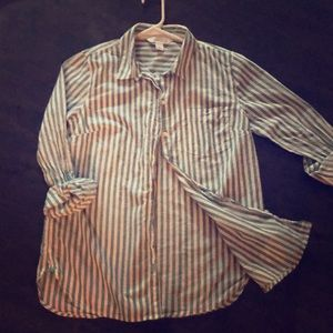 """Old Navy """"Classic"""" Button Down Striped Shirt"""